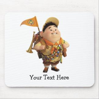 Russell que sonríe - Disney Pixar ENCIMA de la pel Tapetes De Ratón