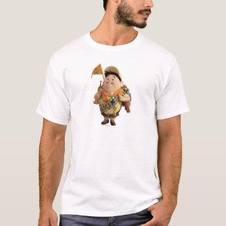 Russell que sonríe - Disney Pixar ENCIMA de la Playera