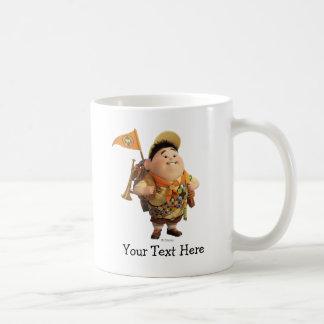 Russell que sonríe - Disney Pixar ENCIMA de la Taza De Café