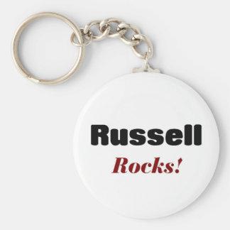 Russell rocks keychain
