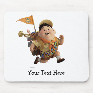 Russell Running from Disney Pixar UP Mouse Pad