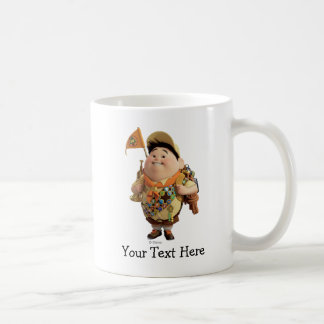 Russell smiling - the Disney Pixar UP Movie 2 Coffee Mugs