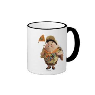 Russell smiling - the Disney Pixar UP Movie 2 Ringer Mug