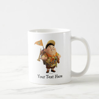 Russell smiling - the Disney Pixar UP Movie Coffee Mug