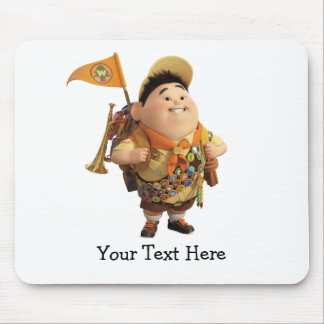 Russell smiling - the Disney Pixar UP Movie Mouse Pad