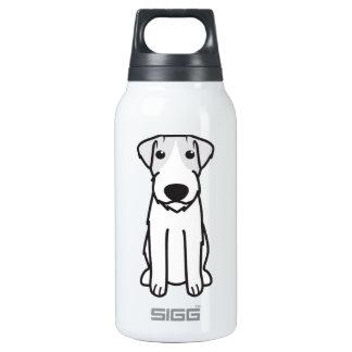 Russell Terrier Dog Cartoon Insulated Water Bottle