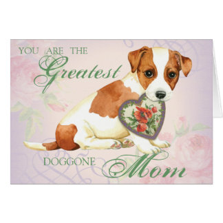 Russell Terrier Heart Mom