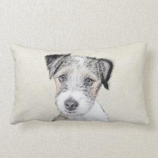 Russell Terrier (Rough) Lumbar Pillow