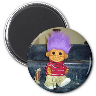 Russell the Best Golfer 2 Inch Round Magnet
