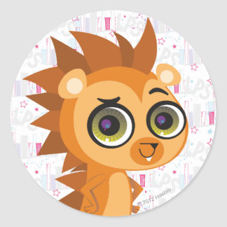Russell the Hedgehog Classic Round Sticker