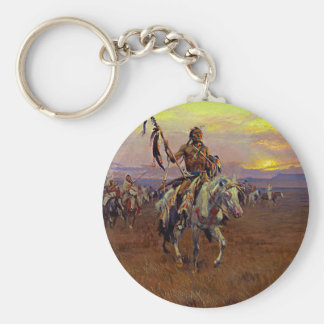 Russell The Medicine Man Keychain