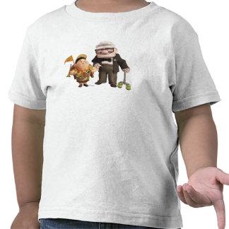 ¡Russell y Carl de Disney Pixar PARA ARRIBA! Camiseta