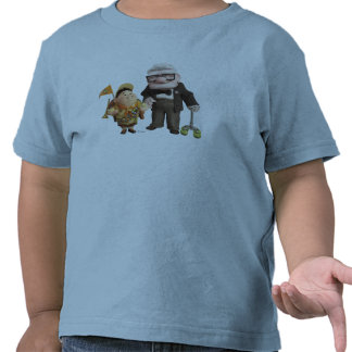 ¡Russell y Carl de Disney Pixar PARA ARRIBA! Camisetas