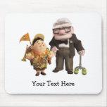 ¡Russell y Carl de Disney Pixar PARA ARRIBA! Alfombrilla De Ratón