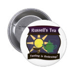 Russell's Tea 2 Inch Round Button