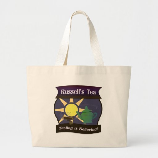 Russell's Tea Canvas Bags