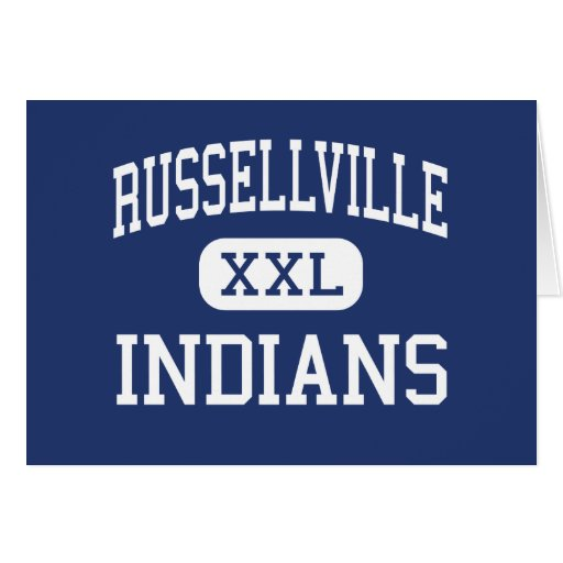 Russellville Indians Middle Russellville Greeting Card