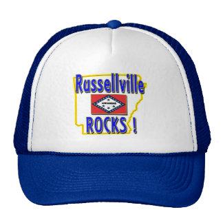 Russellville Rocks ! (blue) Trucker Hat