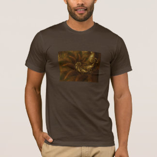 Russet and gold T shirt