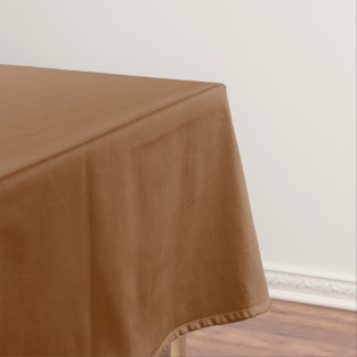 Russet Brown Tablecloth