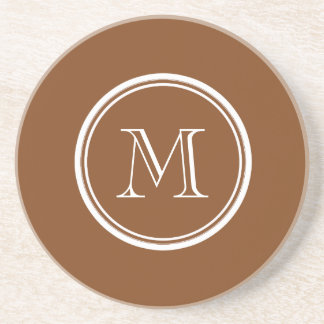 Russet High End Colored Personalized Beverage Coaster