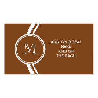 Russet High End Colored Personalized Double-Sided Standard Business Cards (Pack Of 100)