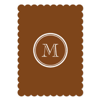 Russet High End Colored Personalized 5x7 Paper Invitation Card
