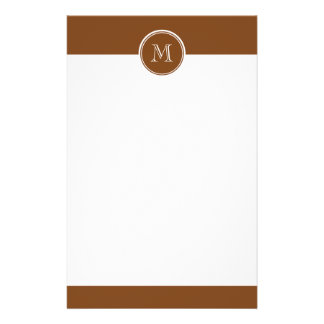 Russet High End Colored Personalized Stationery