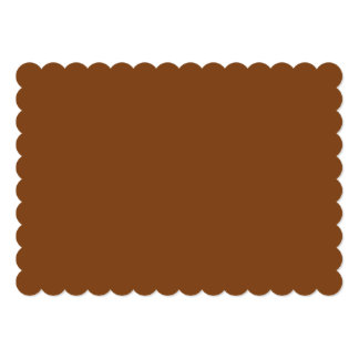 Russet High End Solid Colored Card