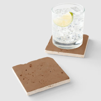 Russet High End Solid Colored Stone Beverage Coaster