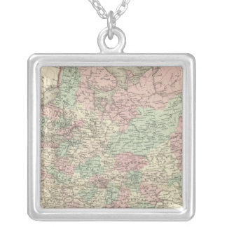 Russia 11 silver plated necklace
