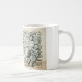 Russia 500 Rubles 1912 with Tzar Peter -1 Coffee Mug