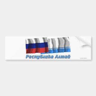 Russia and Altai Republic Bumper Stickers