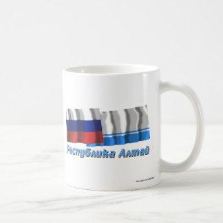 Russia and Altai Republic Classic White Coffee Mug