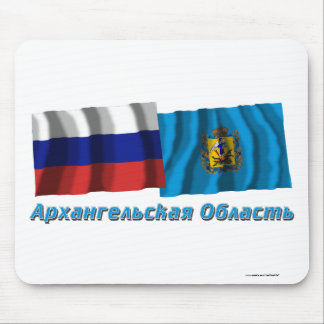 Russia and Arkhangelsk Oblast Mouse Pad