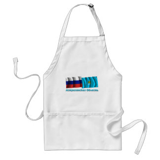 Russia and Astrakhan Oblast Adult Apron