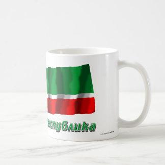 Russia and Chechen Republic Classic White Coffee Mug