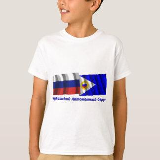 Russia and Chukotka Autonomous Okrug T-Shirt