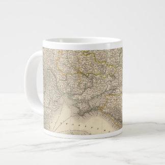 Russia and Europe 3 20 Oz Large Ceramic Coffee Mug