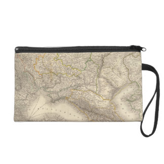 Russia and Europe 3 Wristlet Purse