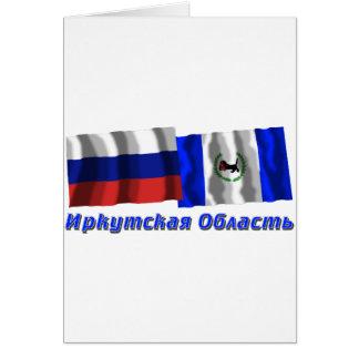 Russia and Irkutsk Oblast Cards
