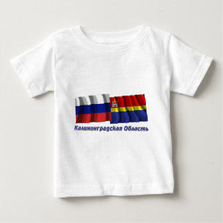 Russia and Kaliningrad Oblast Baby T-Shirt