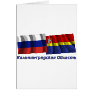 Russia and Kaliningrad Oblast Card