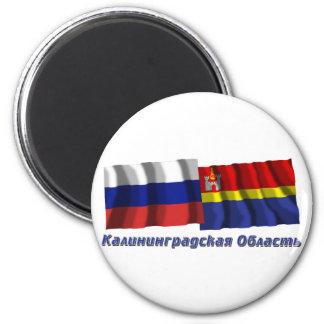 Russia and Kaliningrad Oblast Magnet