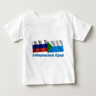 Russia and Khabarovsk Krai T-shirts