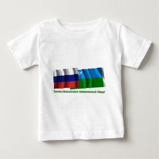 Russia and Khantia-Mansi Autonomous Okrug Tee Shirt