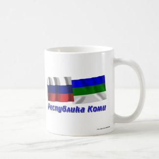 Russia and Komi Republic Classic White Coffee Mug