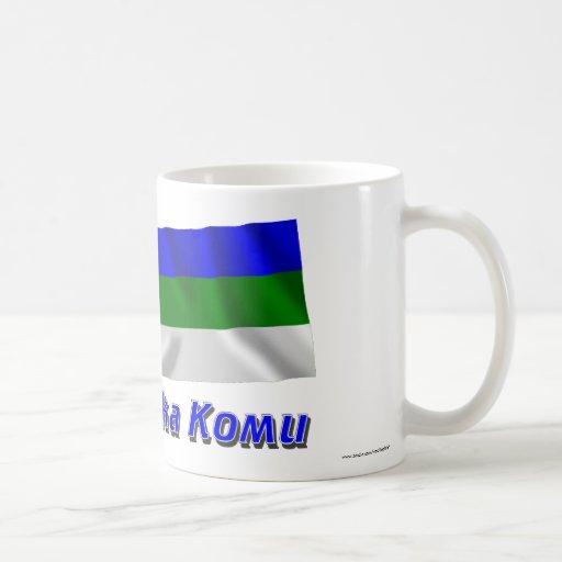 Russia and Komi Republic Mugs