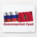 Russia and Krasnoyarsk Krai Mousepad