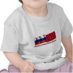 Russia and Krasnoyarsk Krai T Shirts